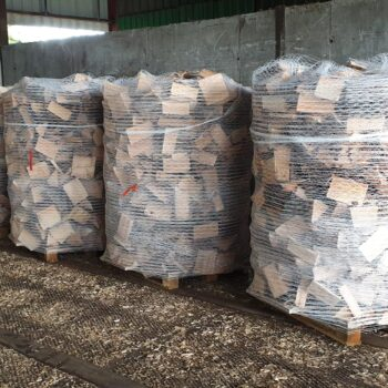 Pallet Log Wrap. Softwood Household/ Biomass.