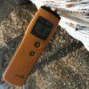 Moisture meter in Logs